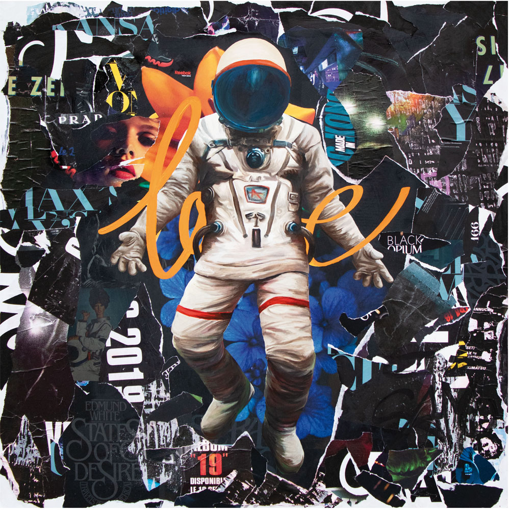 SPACE LOVE - Thomas Chedeville