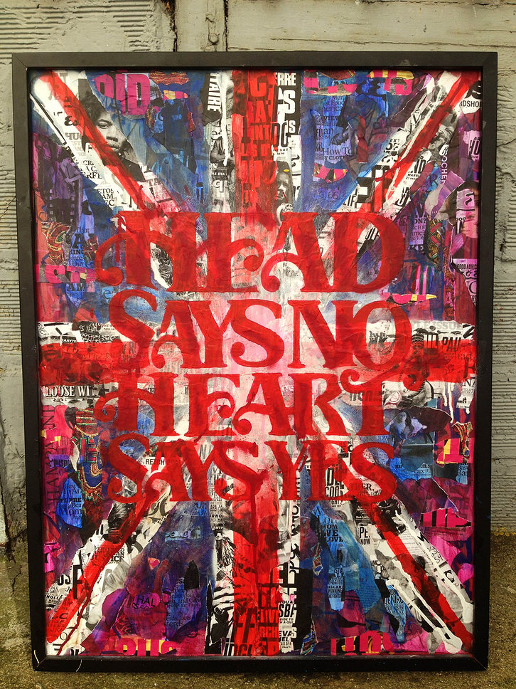 HEAD & HEART / SOLD - Thomas Chedeville