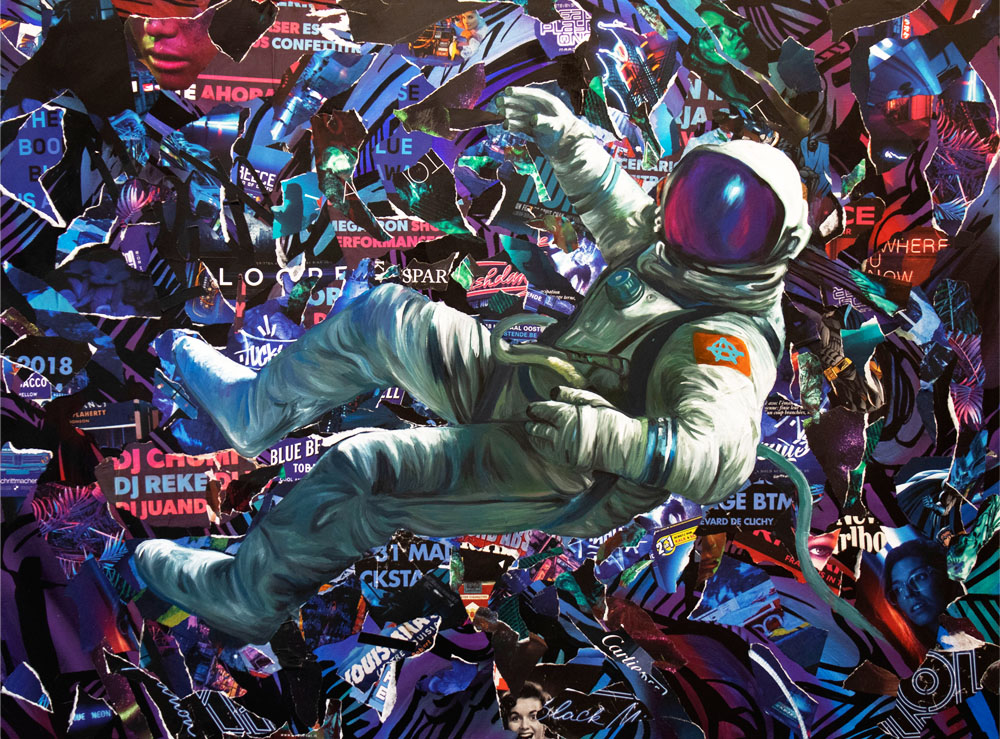 SPACE ODDITY - Thomas Chedeville