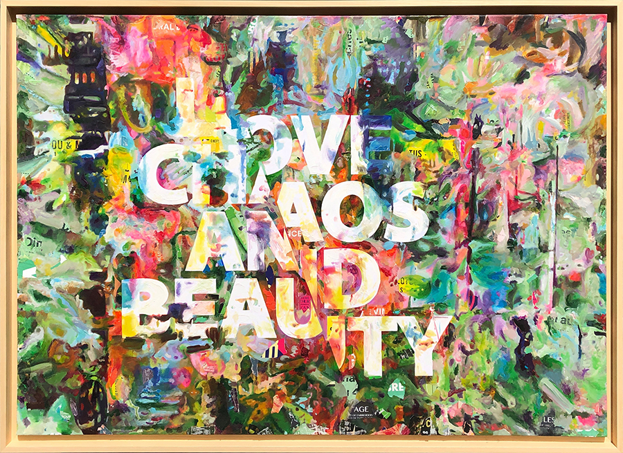 Love Chaos and Beauty - Thomas Chedeville